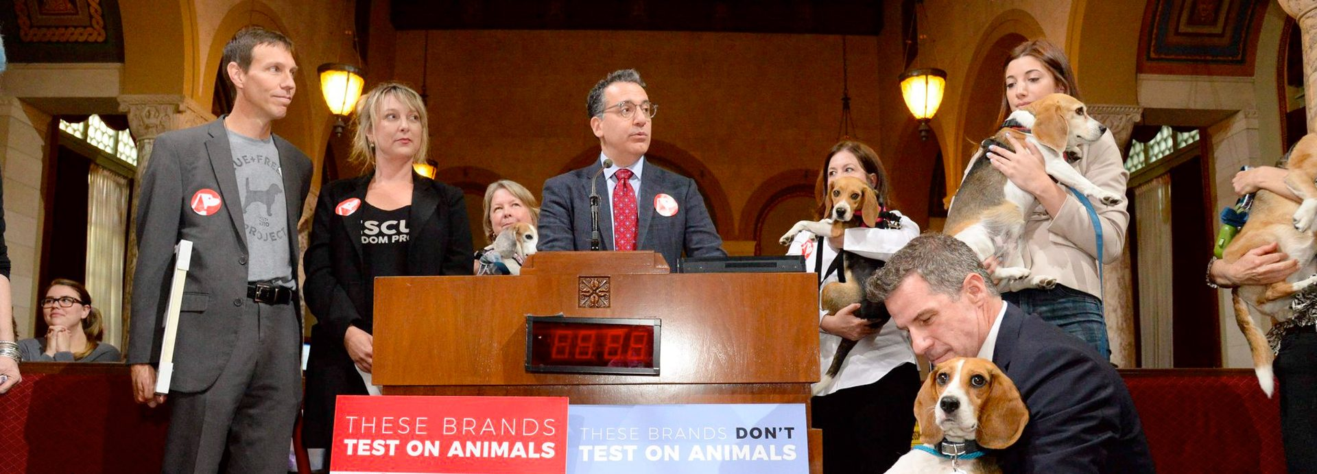 Motion Proposes LA Government Only Uses Cruelty-Free Products