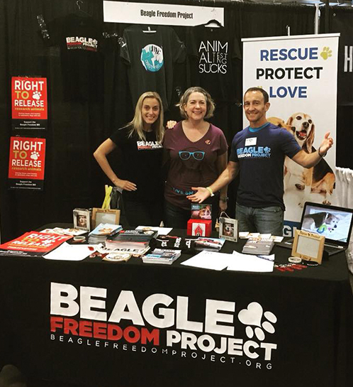Fantastic BFP volunteers at event
